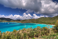 Maho Bay from the overlook<br />