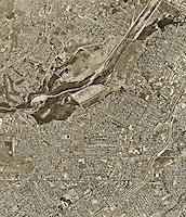 historical aerial photograph Riverside, California, 1994