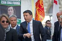 Matteo Renzi during the italian first president Matteo Renzi in Milan for EXPO, on May 13, 2014. Photo: Adamo Di Loreto/BuenaVista*photo