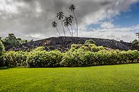 Pi'ilanihale Heiau at the Kahanu Garden, on the road to Hana, Maui.
