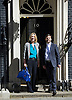 Cabinet Meeting arrivals in Downing Street London Great Britain<br /> 12th May 2015 <br /> <br /> Arrivals of the new government ministers at the first cabinet of the new Conservative government. <br /> <br /> Amber Rudd and Stephen Crabb <br /> <br /> <br /> <br /> Photograph by Elliott Franks <br /> Image licensed to Elliott Franks Photography Services