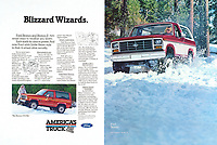 """Ford Bronco II, """"Blizzard Wizards,"""" 1984. Photo by John G. Zimmerman."""