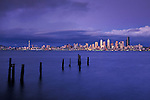 Seattle Skyline as seen from across Elliot Bay
