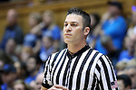 04 November 2016: Official Lee Cassell. The Duke University Blue Devils hosted the Augustana University Vikings at Cameron Indoor Stadium in Durham, North Carolina in a 2016-17 NCAA Division I Men's Basketball exhibition game.