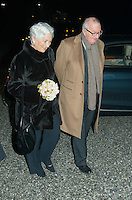 King Albert II &  Queen Paola at the opening concert of the new wing of Queen Elisabeth Music Chapel