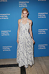 Model Clair Westenberg Attends the Foundation Fighting Blindness World Gala Held at Cipriani downtown located at 25 Broadway
