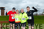 participants who took part in the Kerry's Eye Valentines Weekend 10 mile road race on Sunday were Brian Barry, Ann Marie Murphy, Martin Moore, Fergal Curtin