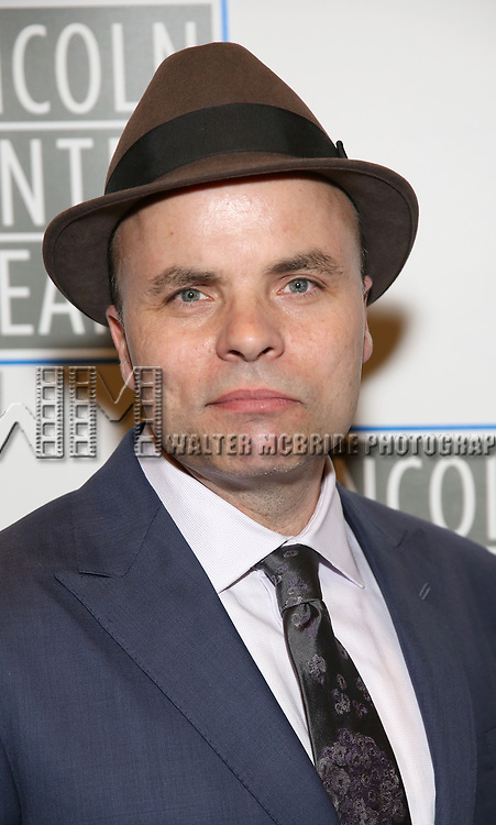 J.T. Rogers attends the Opening Night Performance press reception for the Lincoln Center Theater production of 'Oslo' at the Vivian Beaumont Theater on April 13, 2017 in New York City.