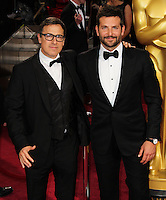 HOLLYWOOD, CA, USA - MARCH 02: David O. Russell, Bradley Cooper at the 86th Annual Academy Awards held at Dolby Theatre on March 2, 2014 in Hollywood, Los Angeles, California, United States. (Photo by Xavier Collin/Celebrity Monitor)