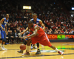 Mississippi's Murphy Holloway (31) vs. Memphis in NIT second round basketball action at the C.M. &quot;Tad&quot; Smith Coliseum in Oxford, Miss. on Friday, March 19, 2010. Ole Miss won 90-81.