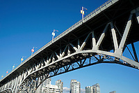 Underside of the Granville Street Bridge, Vancouver, British Columbia, Canada