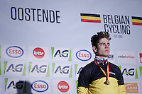 Wout van Aert (BEL/VerandasWillems-Crelan) wins his 2nd consecutive elite Belgian National title.<br />