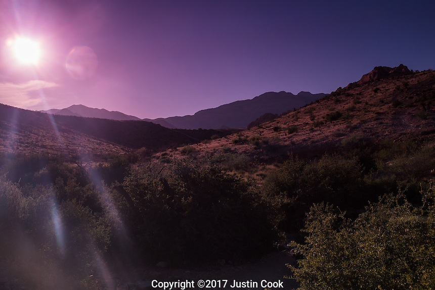 Red Rock Canyon National Conservation Area in Las Vegas, NV on Friday, June 2, 2017. (Justin Cook)