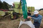 John Letts, Heritage  grains<br /> <br /> Unloading grain.