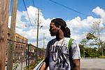 Rapper Waka Flocka in Atlanta, Georgia August 18, 2010.