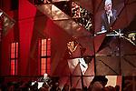 8.11.2014, Berlin Jüdisches Museum. Verleihung des »Preises für Verständigung und Toleranz« des Jüdischen Museums Berlin an Bundesfinanzminister Wolfgang Schäuble MdB und Verleger Hubert Burda. Wolfgang Schäuble