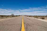 Highway 5 south of San Felipe, Baja California, Mexico