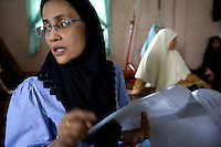 Human rights defender Angkhana Neelapaijit, (wife of missing Human Rights lawyer Somchai Neelapaijit) is the chairperson of The Working Group on Justice for Peace, an organisation that works on the ground in Pattani helping members of communities affected by ongoing conflict. The insurgency in Southern Thailand began as a conflict between the Malay muslim population and central government, but now the boundaries have become blurred and various guerilla groups have become involved. No-one seems certain as to who is fighting who. As of March 2008, the insurgency had claimed as many as 3,000 lives.