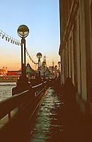 London:  Thameside Walk #21.  Walking towards Tower.  Photo '90.