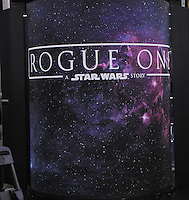 NEW YORK, NY-August 31: Star Wars toy line for Rogue One preview at  Good Morning America in New York. August 31, 2016. Credit:RW/MediaPunch