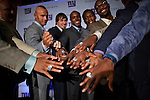 The New York Giants Super Bowl Ring Ceremony at Tiffany and Co. in New York. .. Photo by Robert Caplin