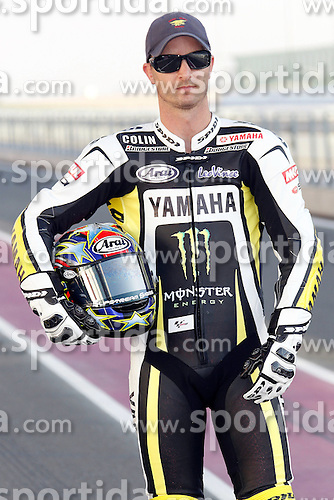 19.03.2010, Doha, Katar, QAT, MotoGP, Fahrerfotos im Bild Colin Edwards - Monster Tech3 Yamaha team, EXPA Pictures © 2010, PhotoCredit: EXPA/ InsideFoto/ Semedia / SPORTIDA PHOTO AGENCY