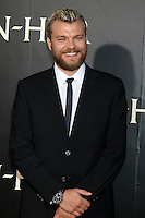 """HOLLYWOOD, CA - AUGUST 16: Pilou Asbaek at the LA Premiere of the Paramount Pictures and Metro-Goldwyn-Mayer Pictures title """"Ben-Hur"""", at the TCL Chinese Theatre IMAX on August 16, 2016 in Hollywood, California. Credit: David Edwards/MediaPunch"""