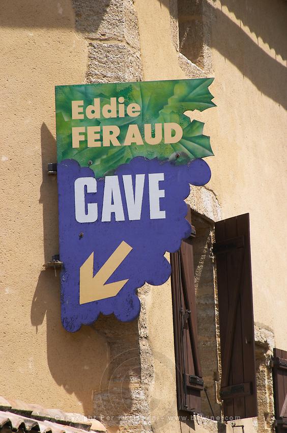 wine shop eddie feraud chateauneuf du pape rhone france