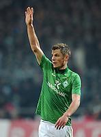 FUSSBALL   1. BUNDESLIGA   SAISON 2011/2012   19. SPIELTAG Werder Bremen - Bayer 04 Leverkusen                    28.01.2012 Markus Rosenberg (SV Werder Bremen)