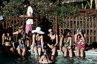 pool party in echo park, los angeles