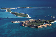 Florida, Dry Tortugas National Park, Fort Jefferson, establsihed as National Park in 1992, Atlantic Ocean