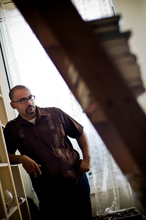 Pulitzer Prize-winning Dominican-American writer Junot Diaz photographed in New York...Photographer: Chris Maluszynski /MOMENT