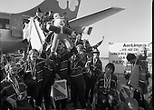1988 - Irish Paralympic Team Return Home From Seoul. (R89)