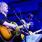 Lucinda Williams performing at Stubb's BBQ, Austin, Texas, September 14, 2013.