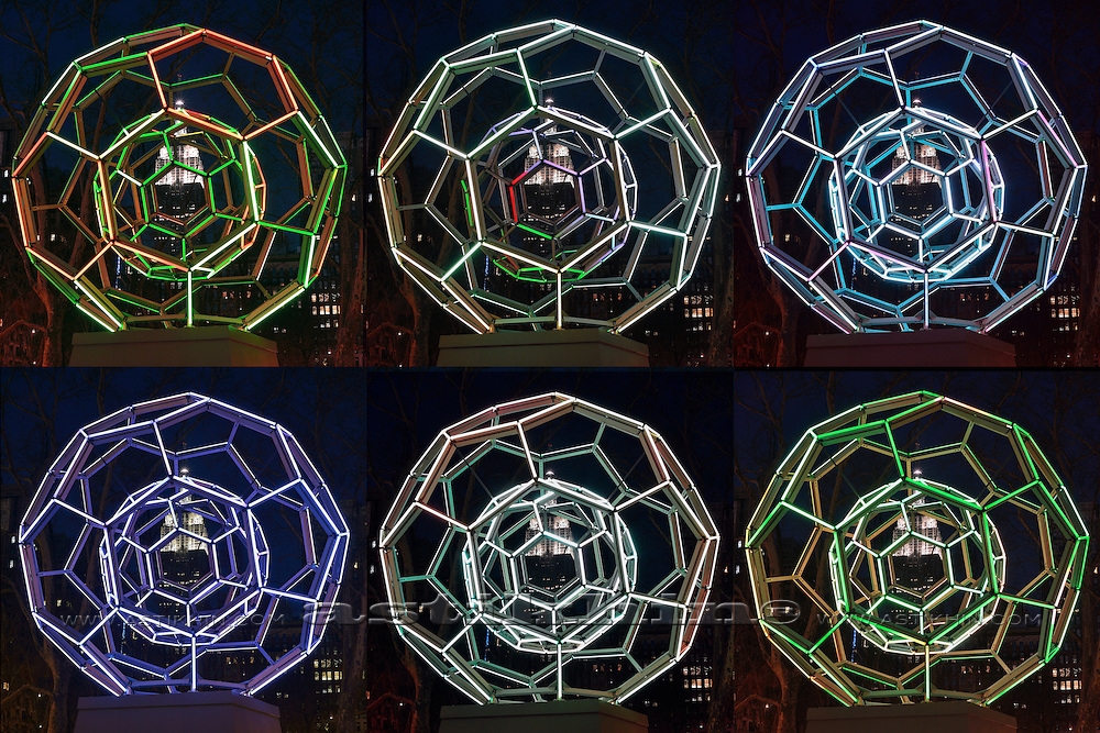 Villareal's BUCKYBALL on Flatiron District.