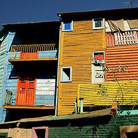 Colorful Houses at El Caminito, La Boca, Buenos Aires, Argentina