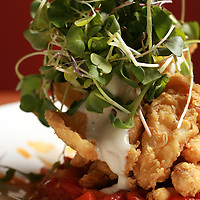 Mushroom Calamari Style on the brunch menu at Dragon Fly.(Jodi Miller/Alive)
