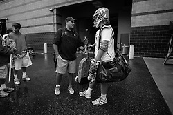 2013 May 24: Assistant coach Ron Caputo and Deemer Class #10 of the Duke Blue Devils during practice at Lincoln Financial Field in Philadelphia, PA.