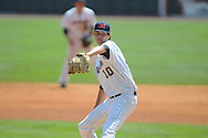 Ole Miss' Chris Ellis pitches vs. LSU at Regions Park in the SEC Tournament in Hoover, Ala. on Thursday, May 24, 2012.  .LSU won 11-2.