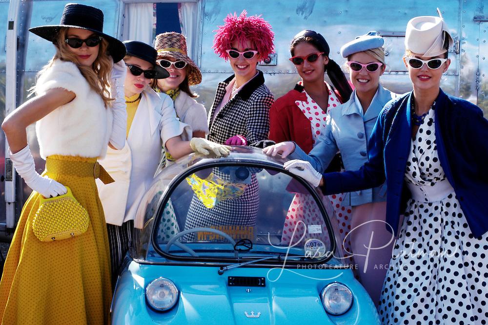 Pitt Stop Girls at Goodwood Revival Pitt Stop Girls at Goodwood Revival - Country Life - BBC