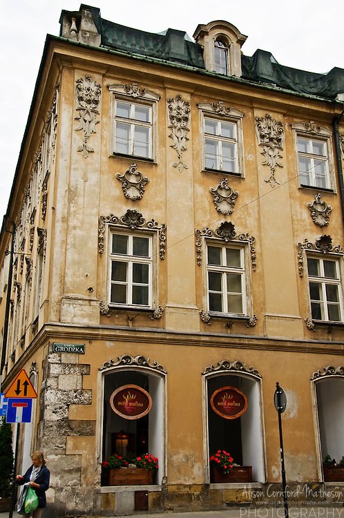 Miod Malina Restaurant is a popular place to dine in Krakow (Cracow), Poland.