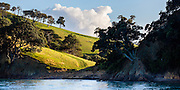 Deadmans Bay, on the southern coast of Waiheke Island, New Zealand.