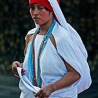 "TAYRONA PARK , COLOMBIA - DECEMBER 17 2010 : Native Indian woman in ""Tayrona"" park , Colombia"