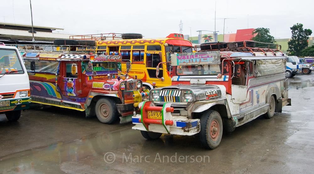 Jeepneys, Tagbilaran, Bohol, Philippines..