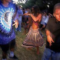 Grateful Dead fans gather in Griffith Park.