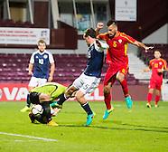 02-09-2016 Scotland under 21s v FYR Macedonia