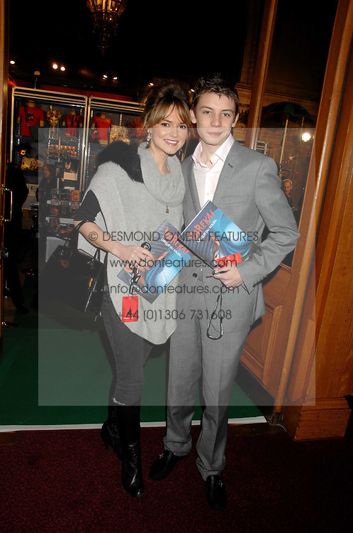 Actress KARA TOINTON and CHARLIE G HAWKINS at the gala night of Varekai by Cirque du Soleil at The Royal Albert Hall, London on 8th January 2008.<br /><br />NON EXCLUSIVE - WORLD RIGHTS