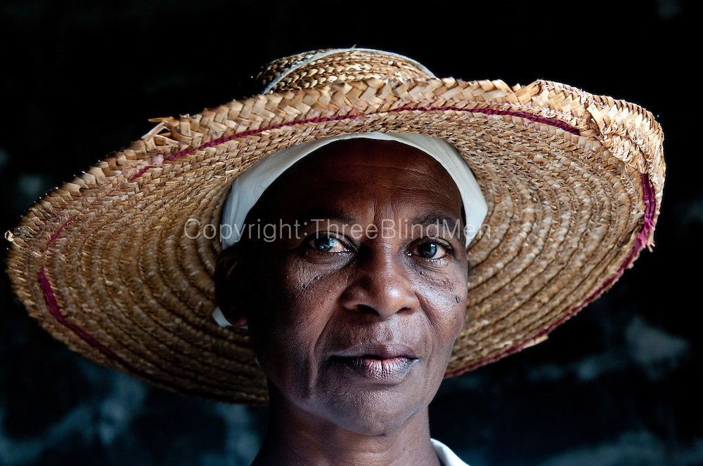 Lucille Patate who works at the salt pans.