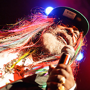 April 12, 2010 (Washington, D.C.) - George Clinton and Parliment Funkadelic perform at the 9:30 Club.  (Photo by Kyle Gustafson/For The Washington Post)
