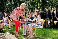 10-6-2015  NIJMEGEN - Prinses Laurentien der Nederlanden opent woensdag 10 juni in Nijmegen de nieuwe vleugel van het Max Planck Instituut voor Psycholingu&iuml;stiek. Hier zijn bijna alle disciplines van taalonderzoek ondergebracht. COPYRIGHT ROBIN UTRECHT<br /> 10-6-2015 NIJMEGEN - Princess Laurentien of the Netherlands will open Wednesday, June 10 in Nijmegen, the new wing of the Max Planck Institute for Psycholinguistics. Here are almost all disciplines of language research housed. COPYRIGHT ROBIN UTRECHT